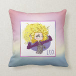 Zodiac Sign - Leo - July 23 - August 22 Throw Pillow