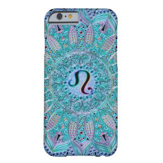 Zodiac Sign Leo Lace Mandala Barely There iPhone 6 Case