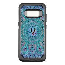 Zodiac Sign Leo Lace Mandala OtterBox Commuter Samsung Galaxy S8 Case