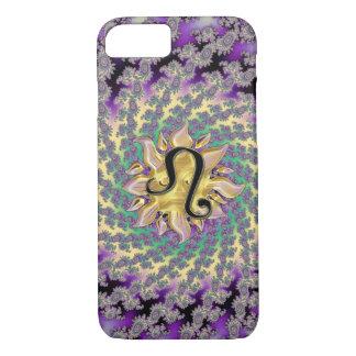 Zodiac Sign Leo Sun Mandala iPhone 7 Case