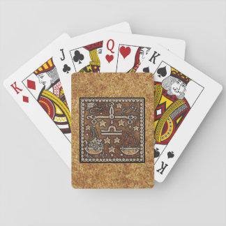 ZODIAC SIGN LIBRA PLAYING CARDS