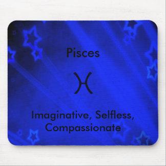 Zodiac Sign: Pisces Mouse Pad