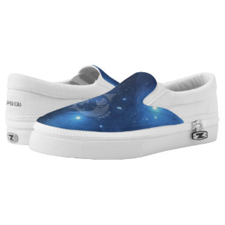 Zodiac sign Pisces Slip-On Sneakers