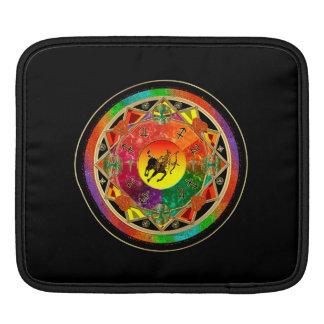 Zodiac Sign Sagittarius Mandala iPad Sleeve