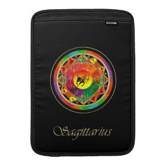 Zodiac Sign Sagittarius Mandala MacBook Air Sleeve