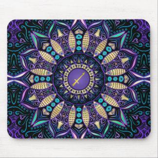Zodiac Sign Sagittarius Mandala Mouse Pad