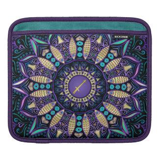 Zodiac Sign Sagittarius Mandala Sleeve For iPads