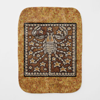 ZODIAC SIGN SCORPIO BURP CLOTH
