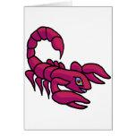 Zodiac sign Scorpio Cards