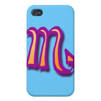 Zodiac sign Scorpio Case for iPhone 4
