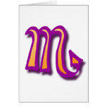 Zodiac sign Scorpio Greeting Cards