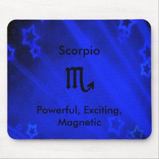 Zodiac Sign: Scorpio Mouse Pad