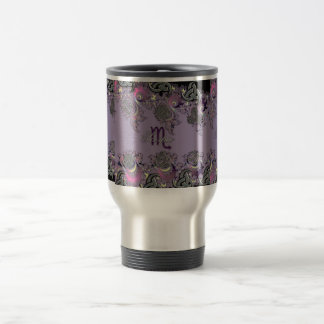 Zodiac Sign Scorpio Mystic Fractal Travel Mug