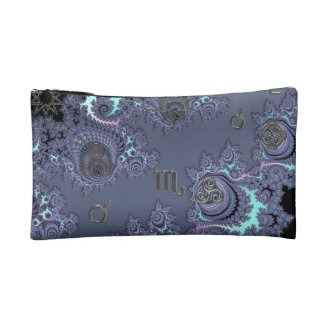 Zodiac Sign Scorpio Mystical Symbols Cosmetics Bags