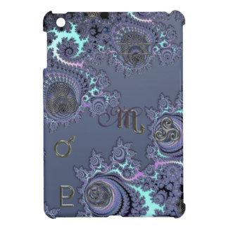 Zodiac Sign Scorpio Mystical Symbols iPad Mini Cover