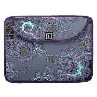 Zodiac Sign Scorpio Mystical Symbols MacBook Pro Sleeve