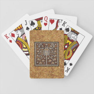 ZODIAC SIGN SCORPIO PLAYING CARDS