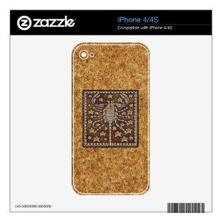ZODIAC SIGN SCORPIO SKIN FOR THE iPhone 4S