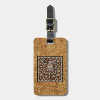 ZODIAC SIGN SCORPIO TAGS FOR BAGS