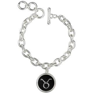 Zodiac Sign Taurus Charm Bracelet