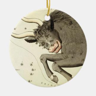 Zodiac Sign: Taurus ornament
