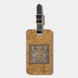 ZODIAC SIGN VIRGO TAG FOR BAGS