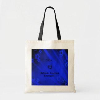 Zodiac Sign: Virgo Tote Bag