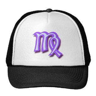 Zodiac sign Virgo Trucker Hat