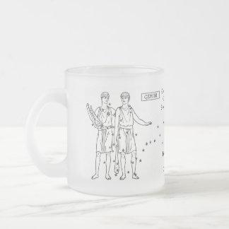 zodiac-signs-3, Generous and warmheartedCreativ... 10 Oz Frosted Glass Coffee Mug