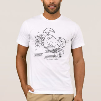 zodiac-signs-4, The CrabJune 22 to July 22 Trad... T-Shirt