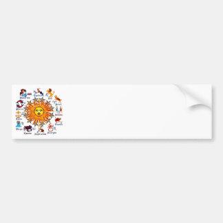 Zodiac-Signs-All-V-1 Bumper Stickers