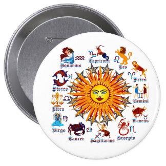 Zodiac-Signs-All-V-1 Pinback Button
