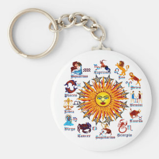 Zodiac-Signs-All-V-1 Keychain