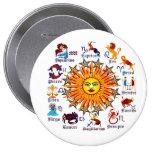 Zodiac-Signs-All-V-1 Pin Redondo 10 Cm
