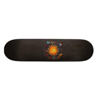 Zodiac-Signs-All-V-1 Skateboard Deck