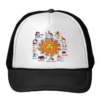 Zodiac-Signs-All-V-1 Trucker Hat