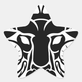Zodiac Signs Aries Icon Star Sticker