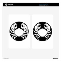 Zodiac Signs Cancer Crab Skins For Kindle Fire