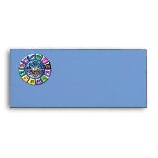 Zodiac signs envelope