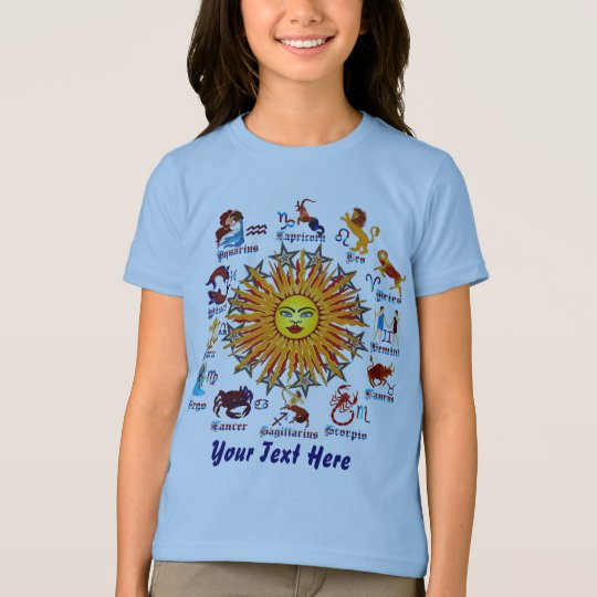 Zodiac Signs Kids All V-1 T-Shirt