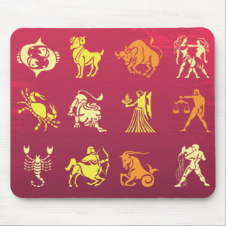 Zodiac Signs Mouse Pad