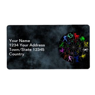 Zodiac signs together label
