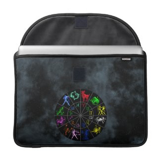 Zodiac signs together MacBook pro sleeves
