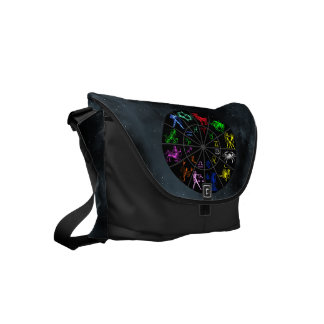 Zodiac signs together small messenger bag