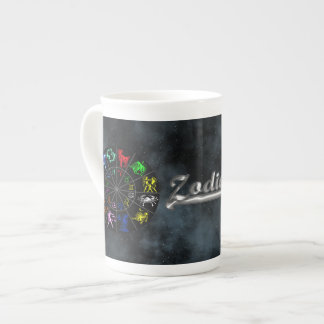 Zodiac signs together tea cup