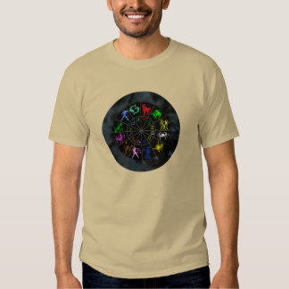 Zodiac signs together tee shirt