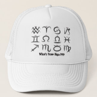 Zodiac Signs Trucker Hat