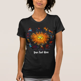 Zodiac Signs Women All V-1 T-Shirt
