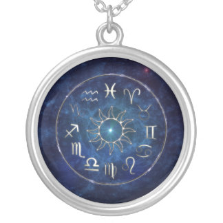 Zodiac Silver Plated Necklace