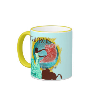 Zodiac Sips Ringer Mug